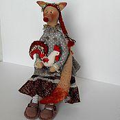 handmade. Livemaster - original item The Fox and the Cock. Handmade.