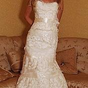 Свадебный салон ручной работы. Ярмарка Мастеров - ручная работа Наряд свадебный :корсет + юбка. Handmade.