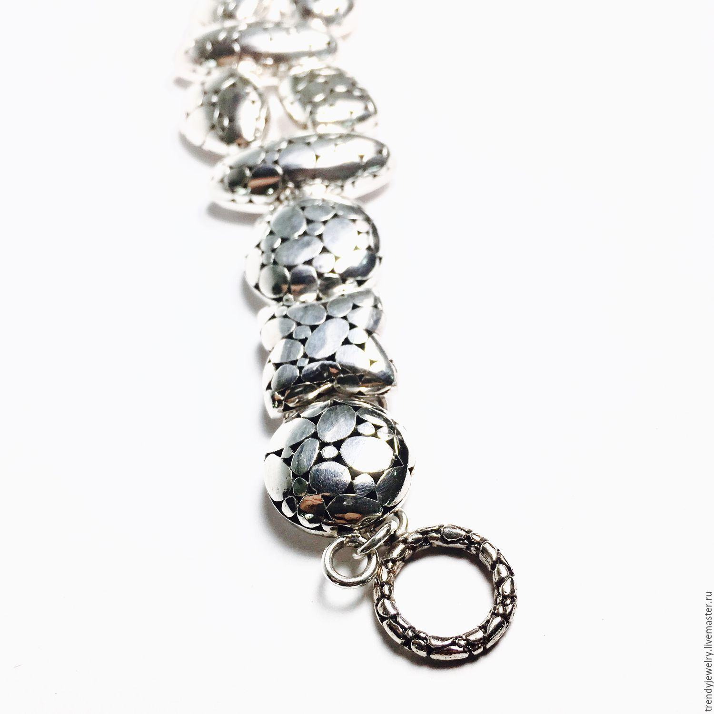 Серебряный браслет 925 пробы - женское счастье