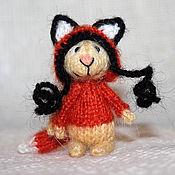 Куклы и игрушки ручной работы. Ярмарка Мастеров - ручная работа Зайчик в костюме лисички :-). Handmade.