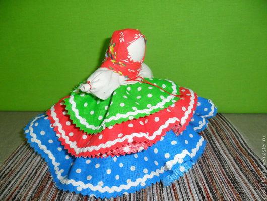 Народные куклы ручной работы. Ярмарка Мастеров - ручная работа. Купить Народная кукла Колокольчик-добрые вести. Handmade. Разноцветный