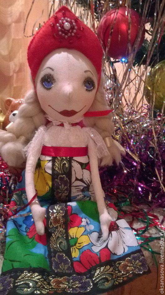 Куклы тыквоголовки ручной работы. Ярмарка Мастеров - ручная работа. Купить кукла Настенька. Handmade. Кукла в русском стиле, подарок