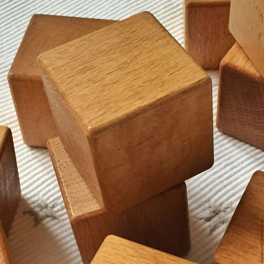 """Развивающие игрушки ручной работы. Ярмарка Мастеров - ручная работа. Купить Кубики деревянные """"Мой первый конструктор"""". Handmade. Конструктор"""