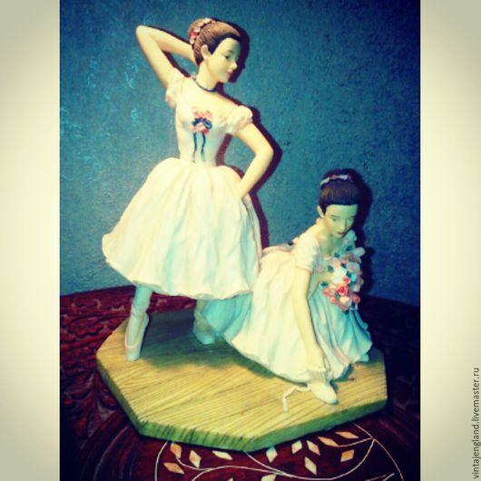 Винтажные предметы интерьера. Ярмарка Мастеров - ручная работа. Купить Статуэтка Балерины от Christine Haworth. Handmade. Статуэтка, балерины, художник