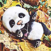 """Куклы и игрушки ручной работы. Ярмарка Мастеров - ручная работа Пандочка """"Валео"""". Handmade."""