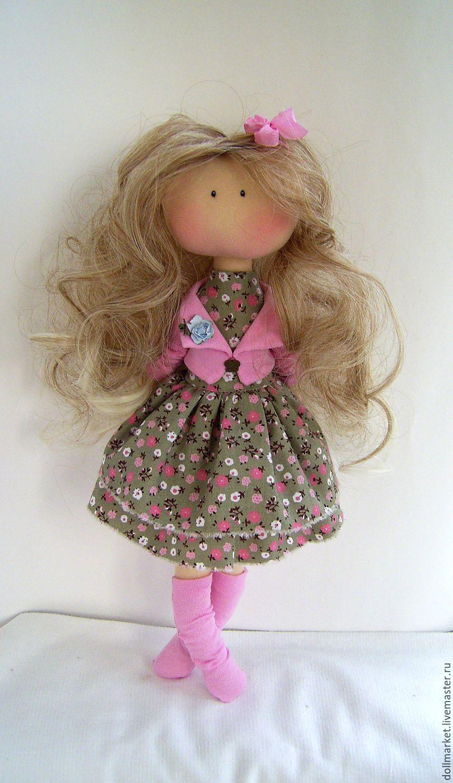Интерьерные куклы ручной работы что это