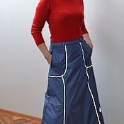 Юбки ручной работы. Ярмарка Мастеров - ручная работа Юбка со встроенными штанишками. Handmade.