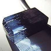 """Украшения ручной работы. Ярмарка Мастеров - ручная работа Кулон из дерева и смолы """"Вода"""". Handmade."""