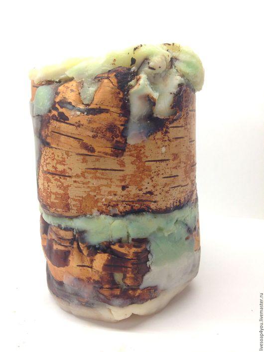 """Мыло ручной работы. Ярмарка Мастеров - ручная работа. Купить """"Лесной ландыш"""" натуральное мыло ручной работы. Handmade. Салатовый"""