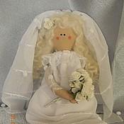 Куклы и игрушки ручной работы. Ярмарка Мастеров - ручная работа Кукла невеста. Handmade.