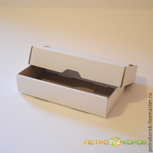 15х8х3см Самосборная коробка белый, Коробки, Санкт-Петербург,  Фото №1