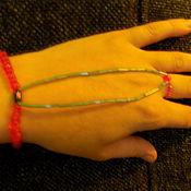 Украшения ручной работы. Ярмарка Мастеров - ручная работа Украшение на руку. Handmade.
