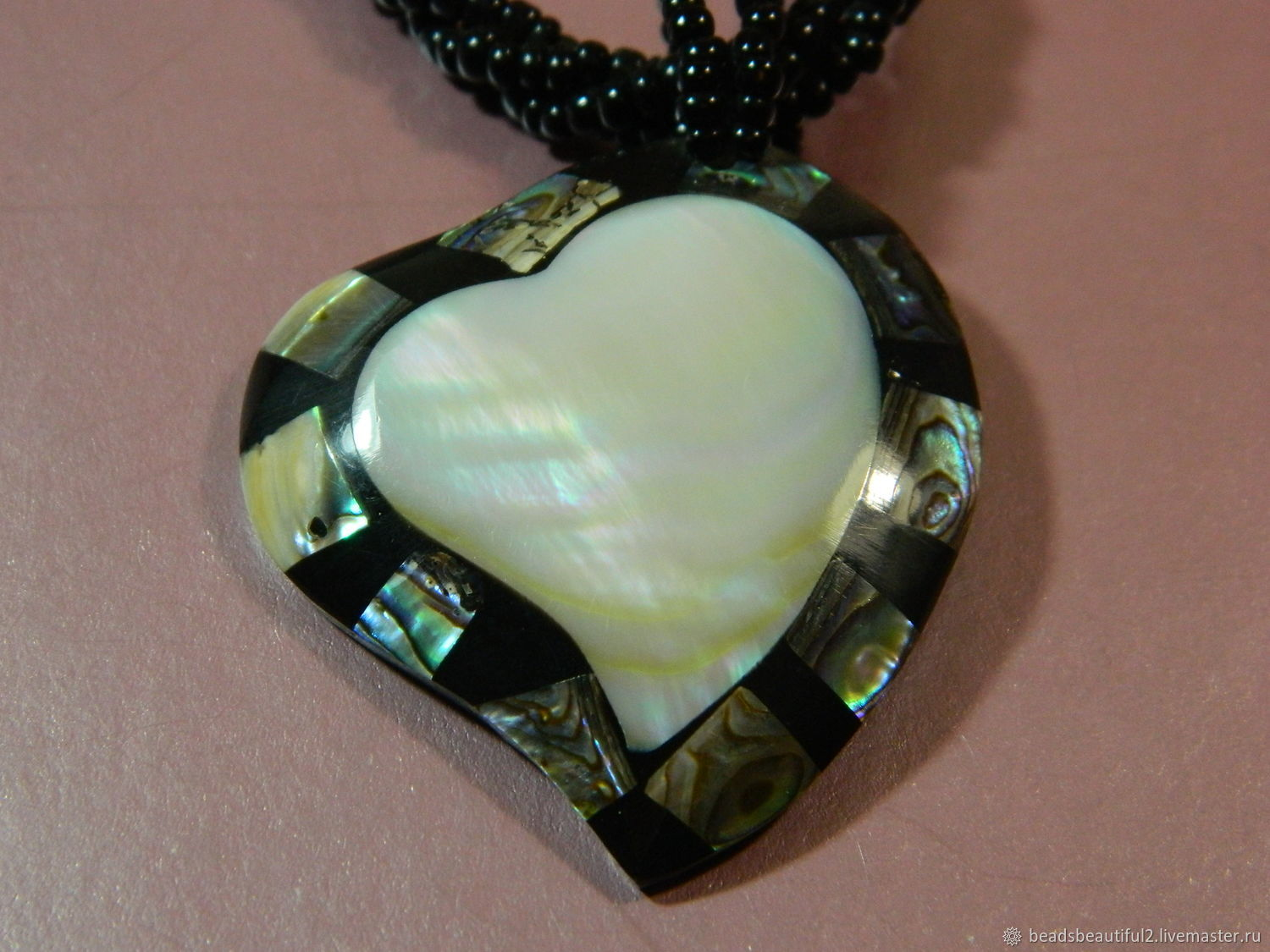 Pendant made of mother of pearl 50h44 mm pcs, Pendants, Saratov,  Фото №1
