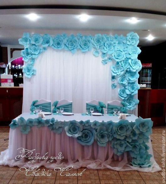 Дизайн интерьеров ручной работы. Ярмарка Мастеров - ручная работа. Купить Оформление свадьбы в мятном цвете. Handmade. Мятный