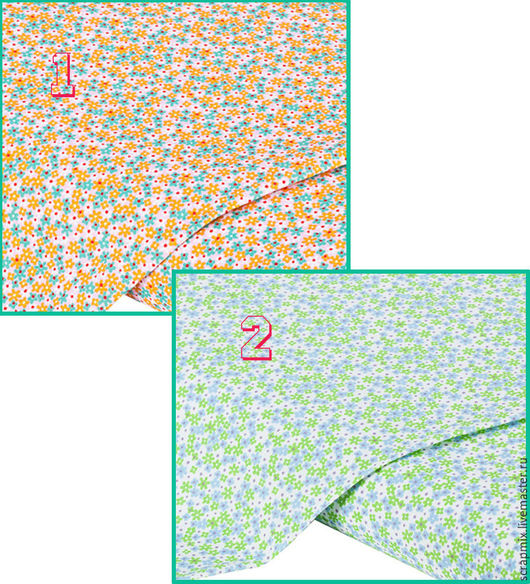 Открытки и скрапбукинг ручной работы. Ярмарка Мастеров - ручная работа. Купить Хлопковая ткань, Германия, 2 вида. Handmade. Скрапбукинг
