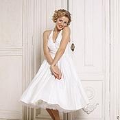 Одежда handmade. Livemaster - original item Retro style dress 50s Monroe. Handmade.