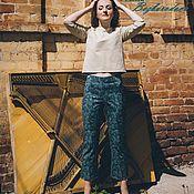 Одежда ручной работы. Ярмарка Мастеров - ручная работа комплект блузон и брюки. Handmade.