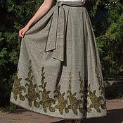 Одежда ручной работы. Ярмарка Мастеров - ручная работа Твидовая теплая юбочка на осень-зиму. Handmade.