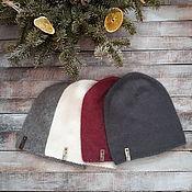 Аксессуары handmade. Livemaster - original item Hat beanie from the wool of mink. Handmade.