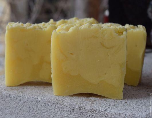 Мыло ручной работы. Ярмарка Мастеров - ручная работа. Купить Лимонадное мыло с Календулой.Натуральное мыло.Взбитое. Handmade. Лимонный