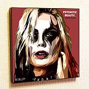 Картины и панно handmade. Livemaster - original item Painting Pop Art Harley Quinn. Handmade.