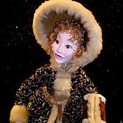 """Куклы и игрушки ручной работы. Ярмарка Мастеров - ручная работа Кукла """"НА КАТКЕ"""". Handmade."""