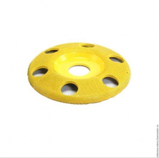 Другие виды рукоделия ручной работы. Ярмарка Мастеров - ручная работа. Купить Обдирочный диск Сабурр для болгарки плоский финишный. Handmade.