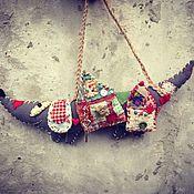 Куклы и игрушки ручной работы. Ярмарка Мастеров - ручная работа Собака Домохраняка. Handmade.