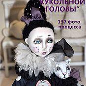 Материалы для творчества ручной работы. Ярмарка Мастеров - ручная работа Подробный фото-мастер-класс по лепке кукольной головы. Handmade.