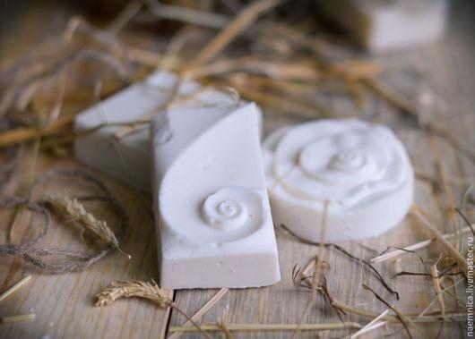 Мыло ручной работы. Ярмарка Мастеров - ручная работа. Купить Натуральное хозяйственное мыло. Handmade. Белый, мыло для уборки