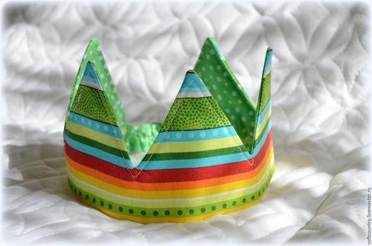 Аксессуары для фотосессий ручной работы. Ярмарка Мастеров - ручная работа. Купить Корона для мальчика. Handmade. Зеленый, корона для мальчика