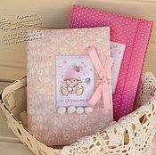Подарки к праздникам ручной работы. Ярмарка Мастеров - ручная работа Блокноты  для маминого дневника. Handmade.