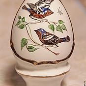Подарки к праздникам handmade. Livemaster - original item Easter egg porcelain