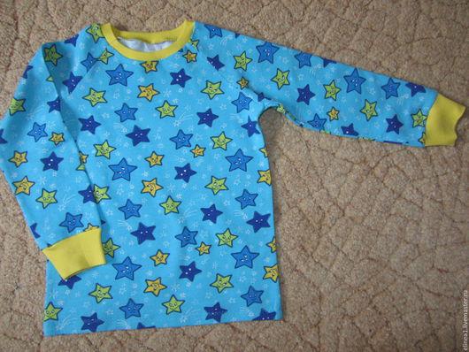 Одежда унисекс ручной работы. Ярмарка Мастеров - ручная работа. Купить звездная пижамка. Handmade. Комбинированный, пижама для девочки