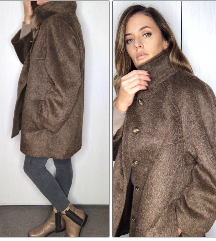 Винтаж: Стильное  качественное пальто из мягкой альпаки, Одежда винтажная, Флоренция,  Фото №1