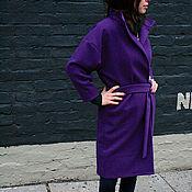 Одежда ручной работы. Ярмарка Мастеров - ручная работа Пальто осеннее. Пальто оверсайз. Пальто кимоно. Handmade.