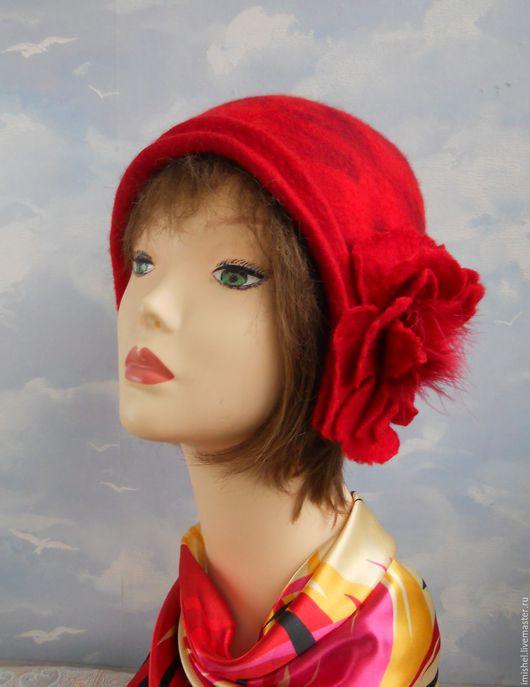 """Шляпы ручной работы. Ярмарка Мастеров - ручная работа. Купить валяная шляпка """"Джейн"""". Handmade. Валяные шляпки, шляпы валяные"""