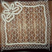 Платочек  Елецкое кружево декоративный