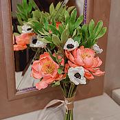 Цветы и флористика handmade. Livemaster - original item BOUQUETS: Bouquet of cold porcelain