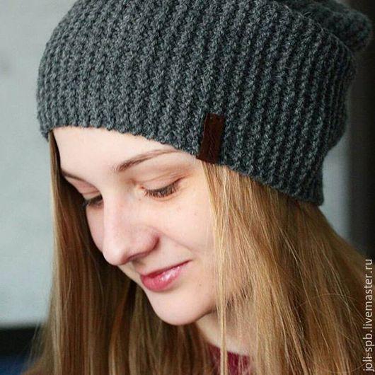 Шапки ручной работы. Ярмарка Мастеров - ручная работа. Купить шапка бини. Handmade. Шапка вязаная, шапка, шапочка для девочки