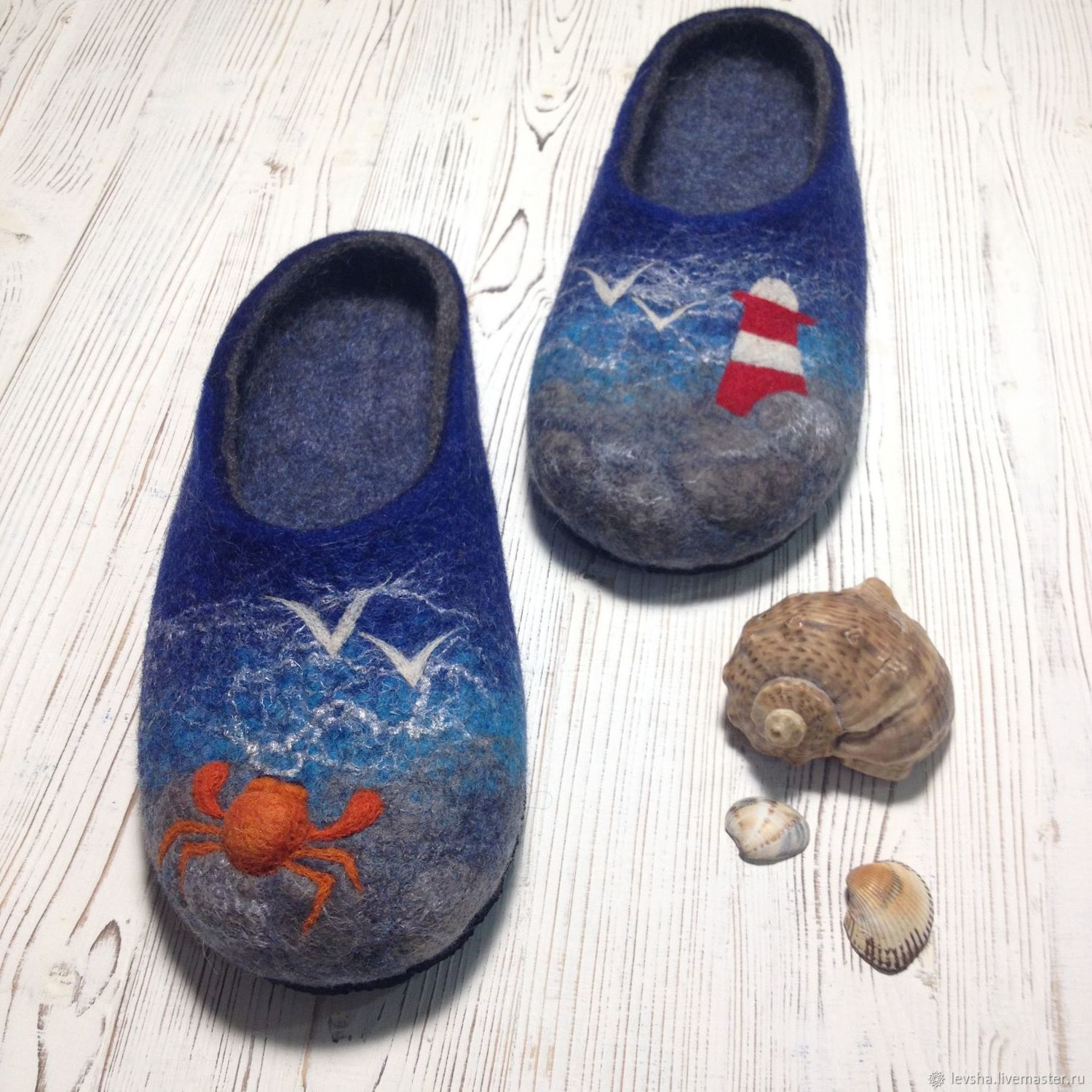 Felted women's Slippers. Homemade felted Slippers. Flip flops. Felted Slippers handmade. Slippers hemmed. Fair Masters. Felted Slippers to buy. Felted Slippers are custom made any size 4-5 days