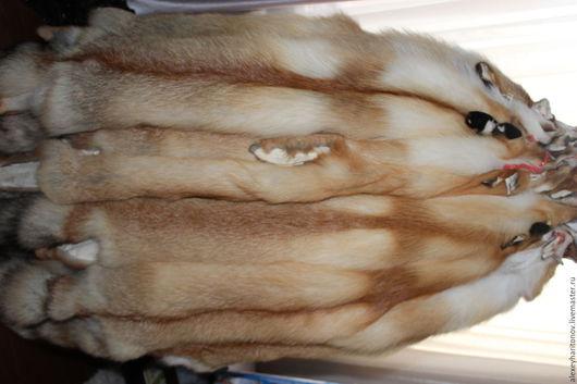 Шитье ручной работы. Ярмарка Мастеров - ручная работа. Купить Шкуры рыжей лисы. Handmade. Рыжий, пушнина, воротник