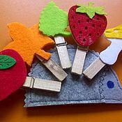 """Куклы и игрушки ручной работы. Ярмарка Мастеров - ручная работа Прищепочная игрушка """"Ёжик"""". Handmade."""