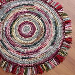Вязаные коврики и др. уютные мелочи - Ярмарка Мастеров - ручная работа, handmade