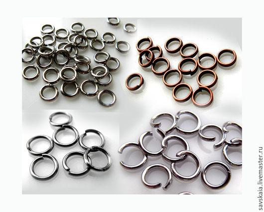 Колечки соединительные разъемные, круглые