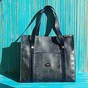 Кожаная сумка женская Айс