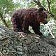 Игрушки животные, ручной работы. Медведь.. Юлия Тарасова (masters-family). Ярмарка Мастеров. Мишутка, язычок-термо-резина