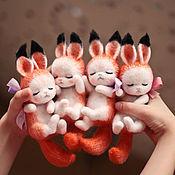Куклы и игрушки ручной работы. Ярмарка Мастеров - ручная работа Бельчата. Handmade.