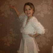 Одежда ручной работы. Ярмарка Мастеров - ручная работа Платье праздничное с балеро (на девочку). Handmade.