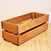 Банки ручной работы. Ярмарка Мастеров - ручная работа Ящик для кухонных мелочей из дуба. Handmade.
